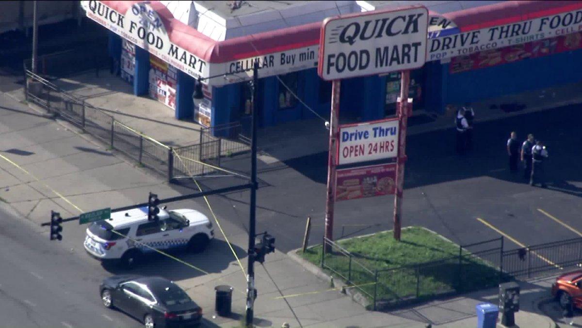 Strzelanina przed sklepem w West Garfield Park. Trzy osoby zginęły
