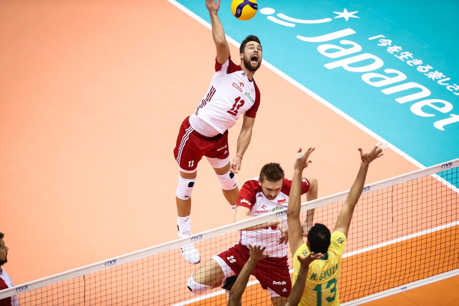 Polska przegrała z Brazylią 2:3 w meczu 9. kolejki Pucharu Świata w siatkówce