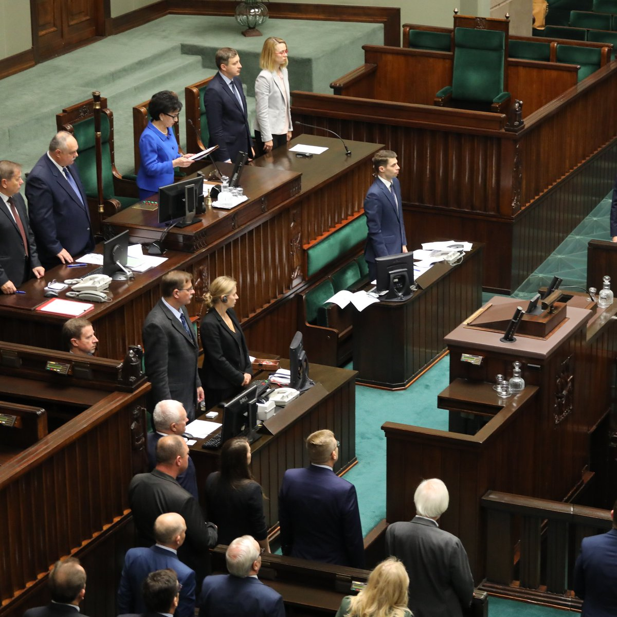 Sejm uczcił Kornela Morawieckiego i Jana Szyszkę