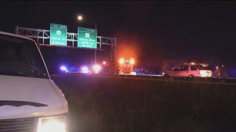Kobieta śmiertelnie potrącona na I-57