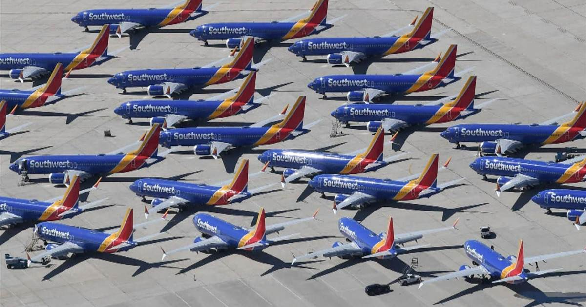Piloci Southwest Airlines chcą 100 milionów dolarów odszkodowania od Boeinga