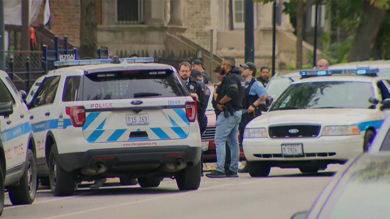 Policjant został potrącony przez radiowóz