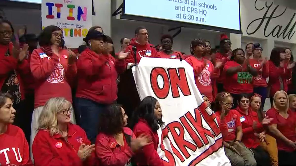 Nauczyciele Chicagowskich Szkół Publicznych rozpoczęli strajk