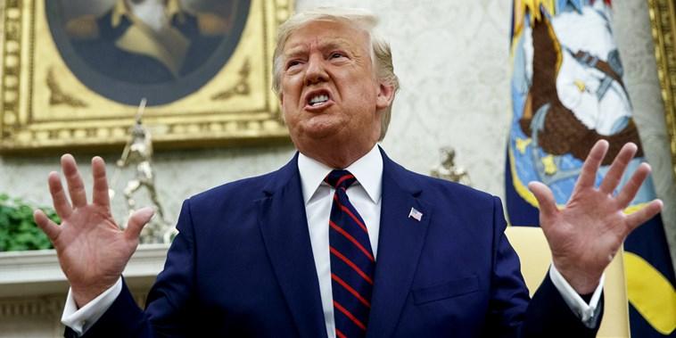 Donald Trump oskarża Demokratów o zdradę