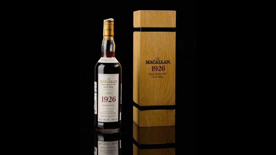 Rekordowa kwota za butelkę whisky