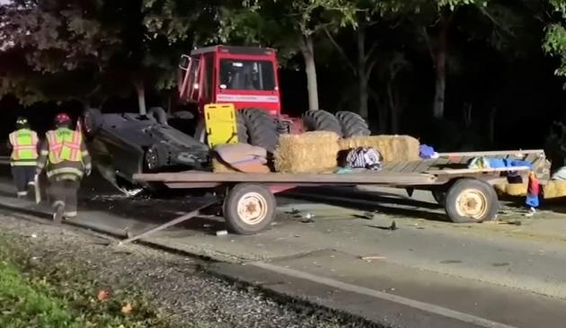 Wypadek drogowy w Little Rock Township. 11 osób rannych