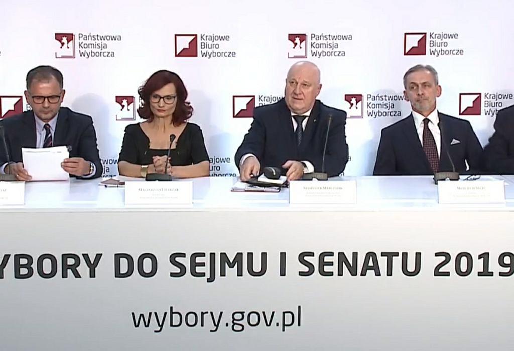 PKW: Oficjalne wyniki wyborów do Sejmu