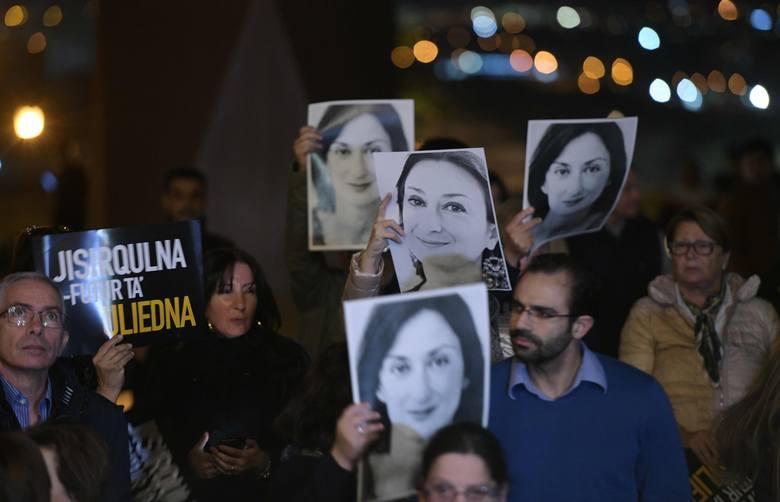 Przełom ws. tragicznej śmierci dziennikarki na Malcie. Wpływowy biznesmen za kratami