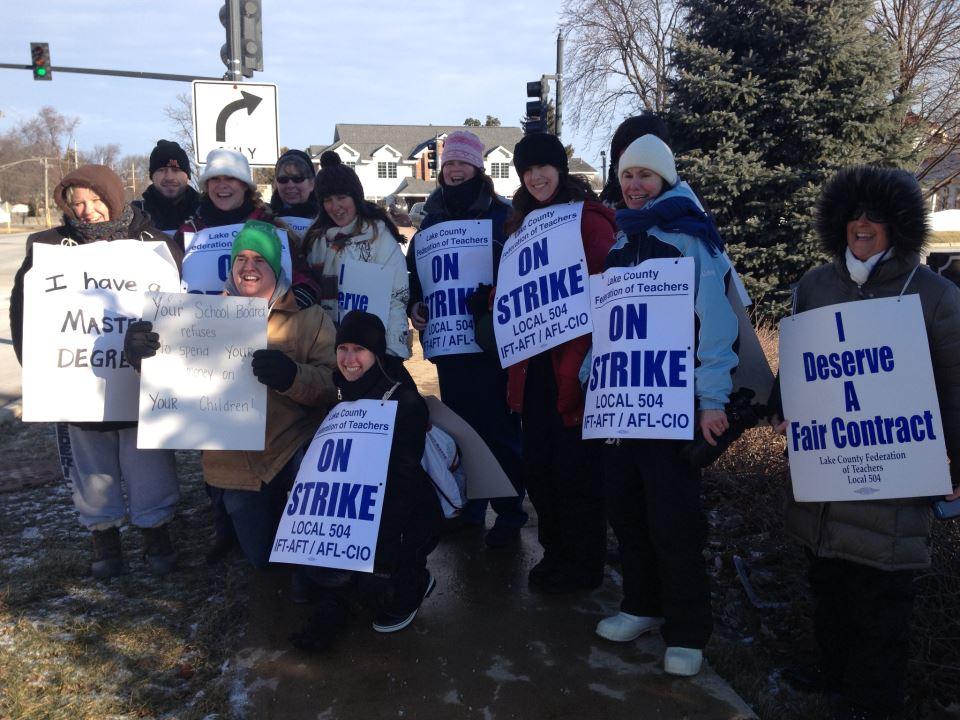 Zakończył się strajk nauczycieli z Grayslake
