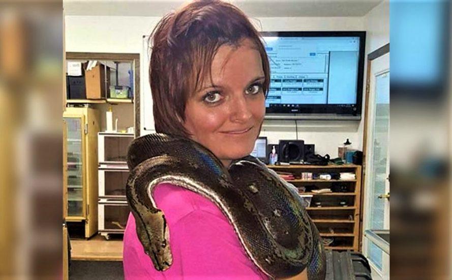 Indiana: Wąż udusił 36-letnią kobietę