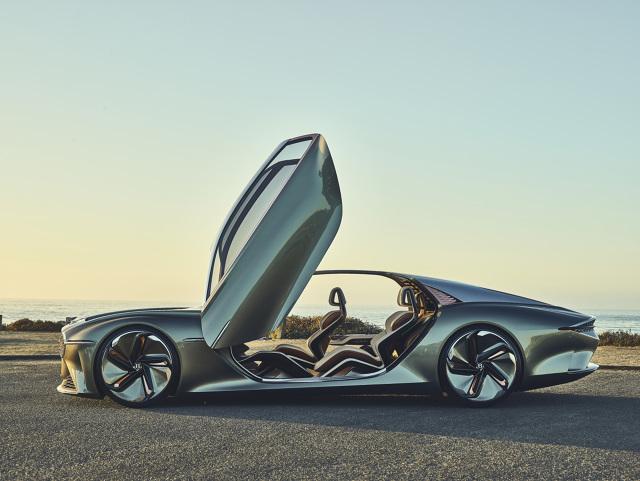 Bentley. Elektryczny i ekologiczny koncept na stulecie firmy