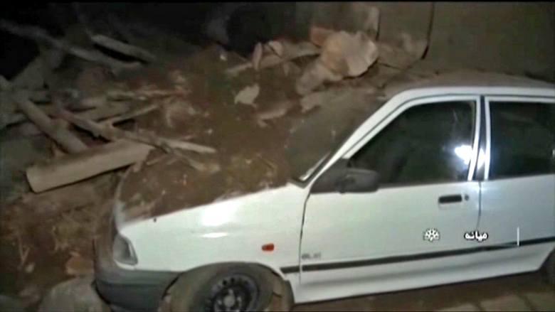 Trzęsienie ziemi w Iranie. Zginęło co najmniej 5 osób, 120 zostało rannych. Zniszczone są wsie w okolicy epicentrum