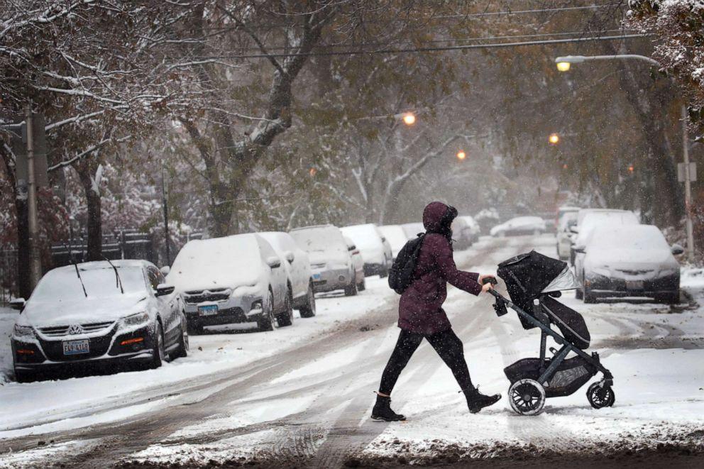Rekordowe opady śniegu w Chicago