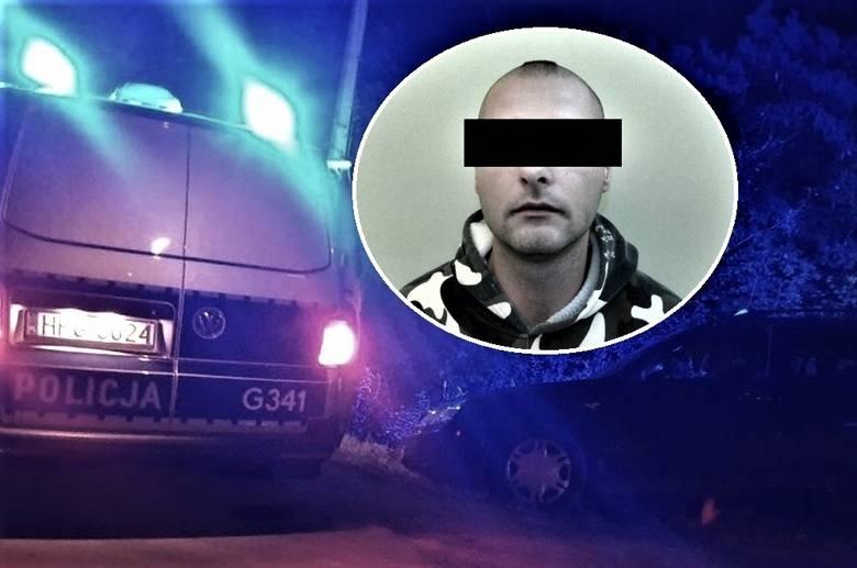 Skok z nożem na taksówkarza w Choczni koło Wadowic. Oskarżony przyznaje się do rabunku 260 zł