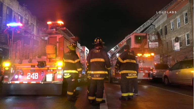 Śmiertelny pożar na Brooklynie
