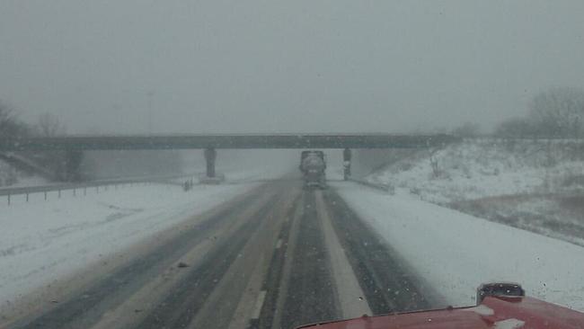 Wypadki drogowe z powodu złych warunków pogodowych
