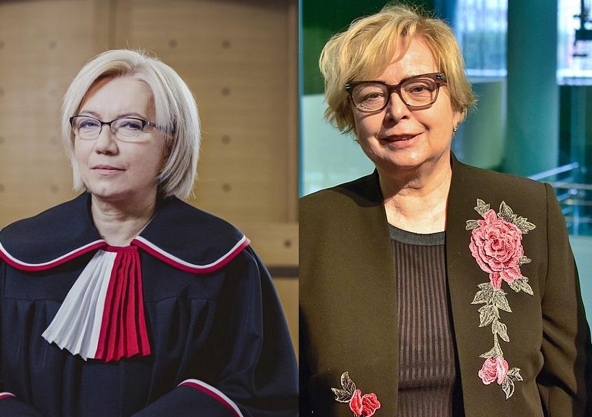 """""""Wojna kobiet"""". Gersdorf i Przyłębska wymieniają się pismami dotyczącymi sporu o sądy"""