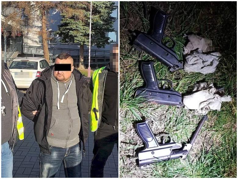 Lubelskie: Nielegalna broń ukryta w gołębniku w gminie Bełżyce. W arsenale m.in.: granaty i rewolwer [FOTO]