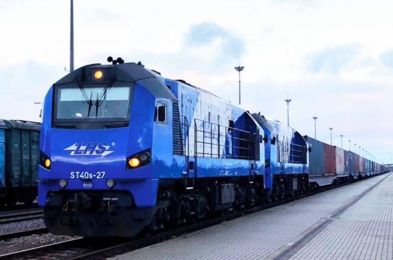 Pierwszy pociąg z Chin wjechał do Polski. Dojechał do Sławkowa. Szerokim torem LHS bez przeładunku na granicy