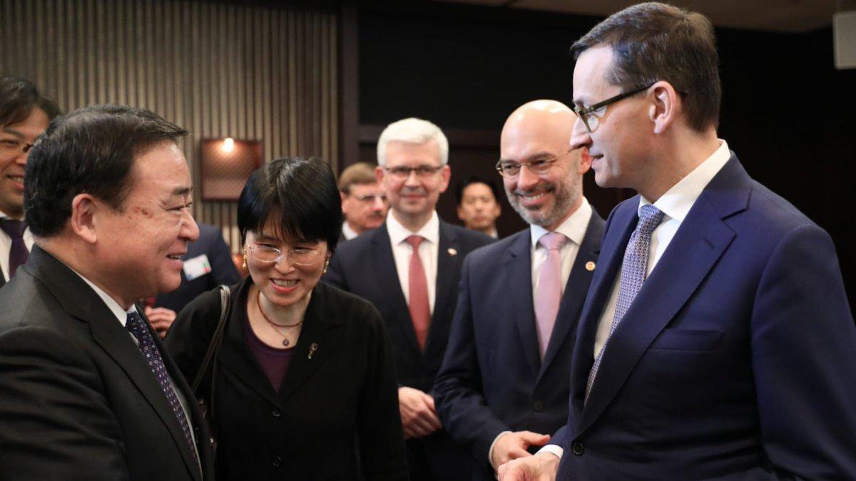 Premier Morawiecki do japońskich inwestorów: Polska ma jedne z najlepszych warunków inwestycyjnych na świecie