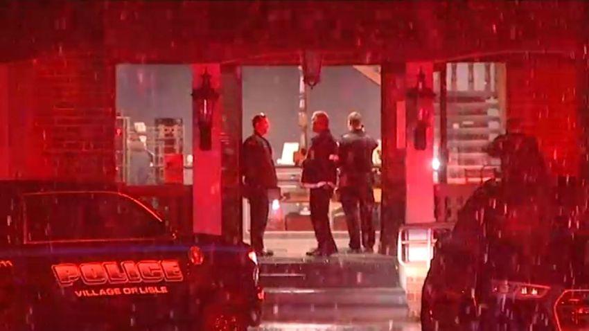 Kobieta postrzeliła trzech mężczyzn w sklepie z papierosami