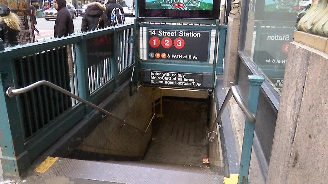 Atak wybielaczem na pasażera metra na Manhattanie