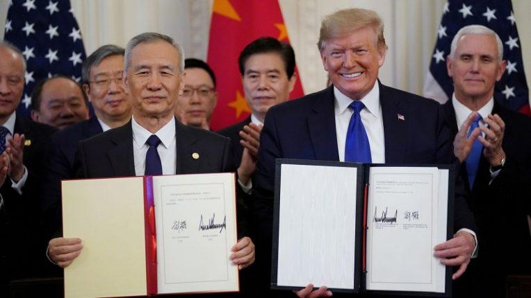 Podpisano porozumienie handlowe USA-Chiny