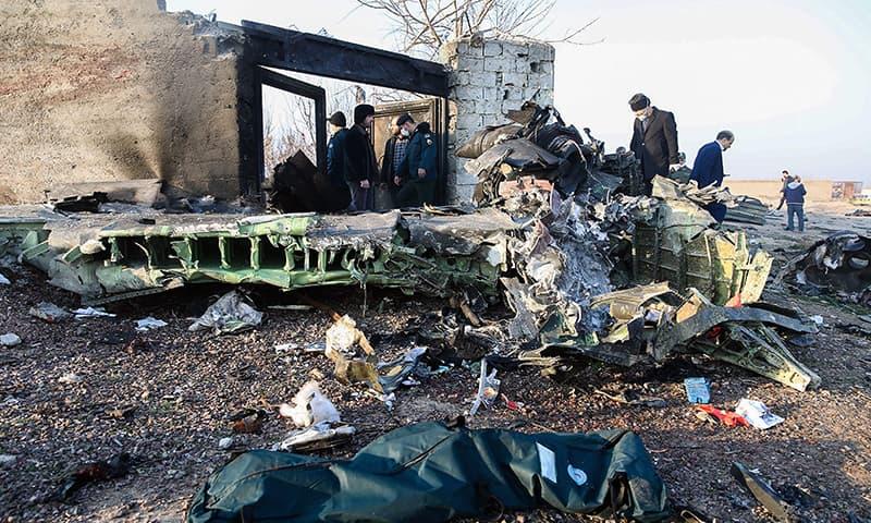 Ukraina: Wylądował samolot z ciałami ofiar zestrzelenia samolotu w Iranie