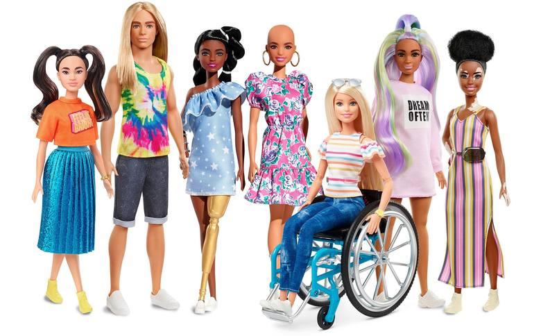 Nowe lalki Barbie od lutego. Bez włosów, z bielactwem i z protezą