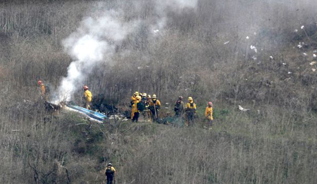 Helikopter na pokładzie którego zginął Kobe Bryant należał wcześniej do Illinois