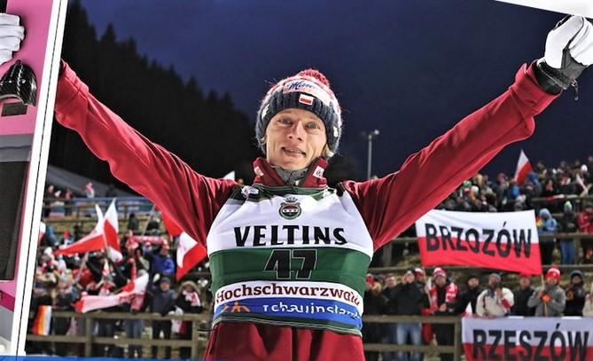 Dawid Kubacki wygrał w sobotę, wygrał również w niedzielę!