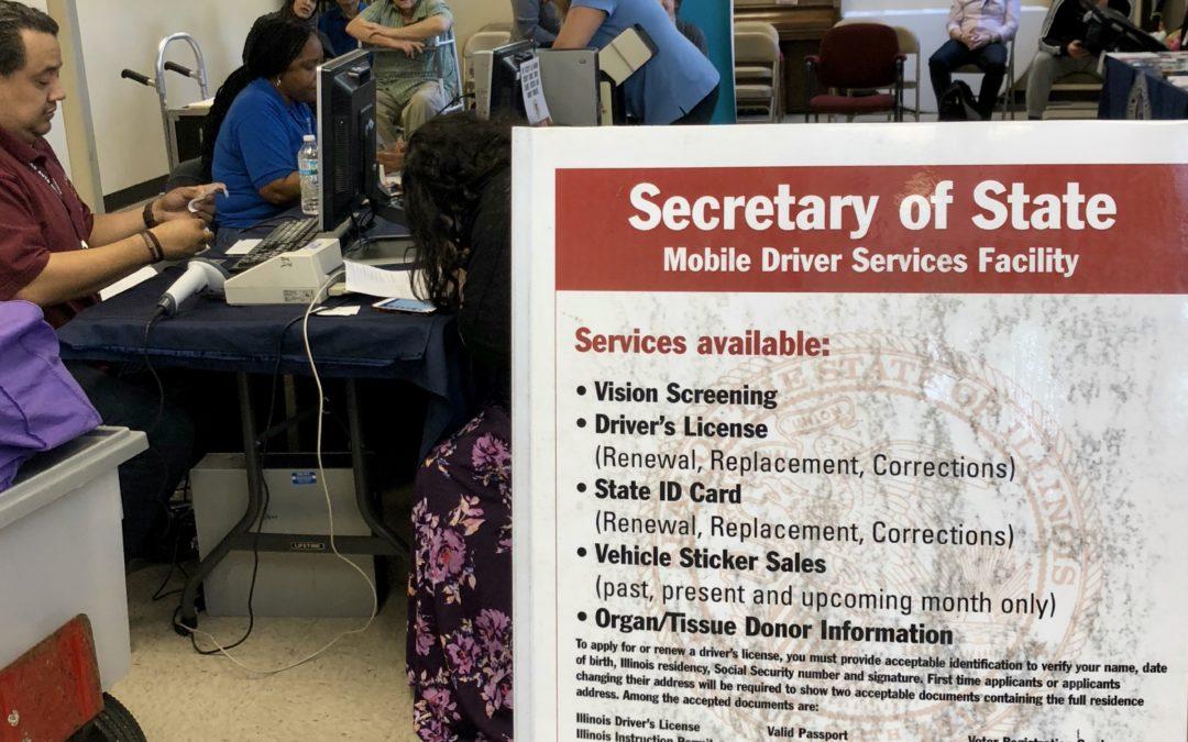 Biuro sekretarza Illinois wpisało na listę do głosowania osoby, które nie posiadają obywatelstwa USA