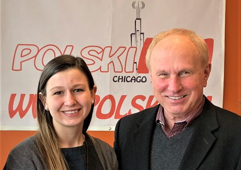 Frank Spula, prezes Związku Narodowego Polskiego gościem radia Polski FM Chicago
