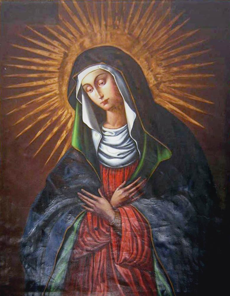 Wilno: Matka Boska Ostrobramska bez złotej szaty